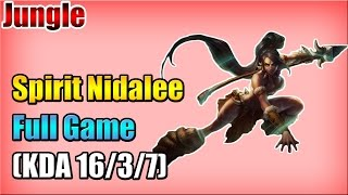 WE Spirit - Nidalee vs Lee Sin - Jungle - Full Game (Oct 12, 2015)