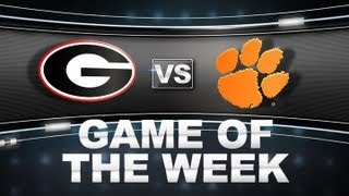 Game of the Week | Georgia vs Clemson | ACCDigitalNetwork