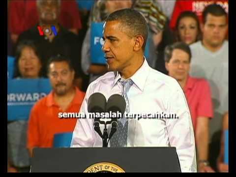 Respon Warga AS Dalam Menghadapi Debat Pertama Capres AS - Laporan VOA 4 Oktober 2012