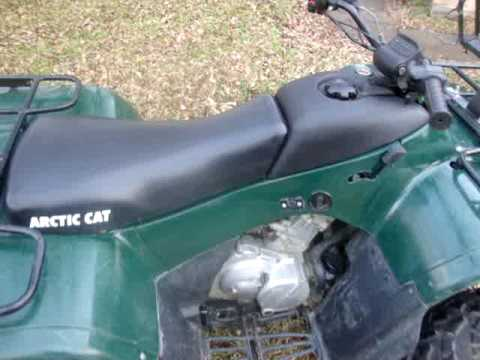 Arctic Cat  Engine Noise