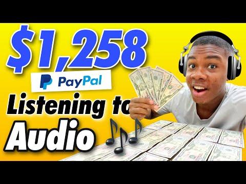 Earn $1,200+ FREE PayPal Money Just Listen To Audio! (Make Money Online 2021)