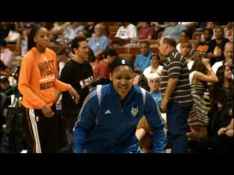 WNBA All-Star 2013: Pre-Game Dunk Fest