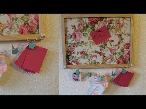 Diy dekorative pinnwand selber machen anleitung - Dekorative wohnidee ...