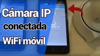 🔻Configuración cámara IP a partir red WiFi teléfono móvil 🔻Permite instalar cámara IP sin Internet