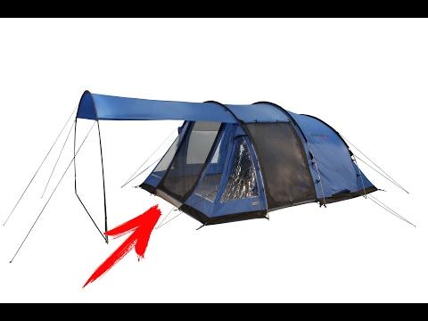 палатка кемпинговая High Peak Ashley большая 4 5 местная хай пик с тамбуром установка