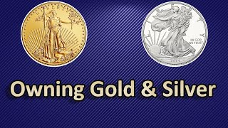 Reasons To Own Gold and Silver