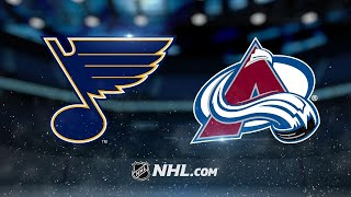 Hutton, Blues hold off Avalanche, 4-3