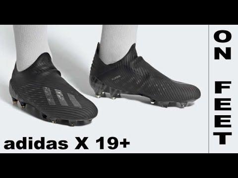 ON FEET : adidas X 19+ FG/AG Shadowbeast