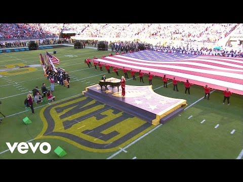 Lady Gaga  StarSpangled Banner  at Super Bowl 50