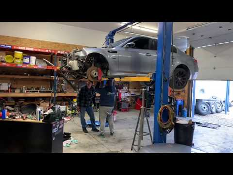 Rebuilding A BMW E60 M5 (Part 2)
