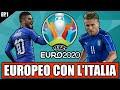 TUTTO L'EUROPEO CON L'ITALIA NEL 2020!! PES 2020: DLC EUROPEO UFFICIALE! #1