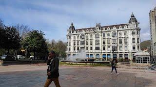 Temporal de viento en Oviedo