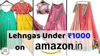 Amazon Lehenga Under 1000 || Wedding Series || Haul and Review