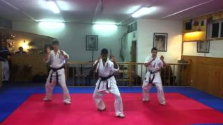 Enshin Karate- Black Belt Kata (Kuro Obi No Kata)