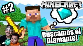 Buscamos Diamante en Minecraft | Encontramos un Tesoro | Juegos Karim Juega