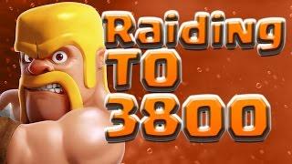 Clash of Clans | Ep.3 - Raiding To 3800 Trophies - Epic 3 Star Raids at 3700