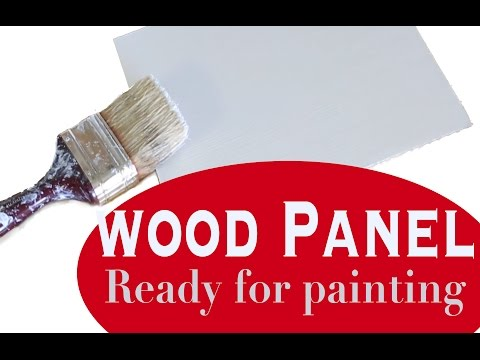 How to Gesso Artists' Wood Panel
