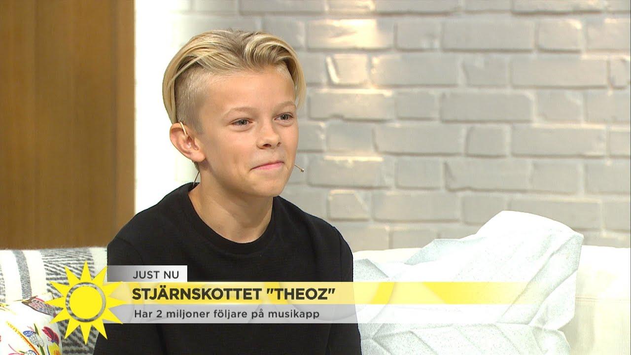 """Stjärnskottet Theoz: """"Jag har lärt mig att skita i allt hat jag får"""" - Nyhetsmorgon (TV4)"""