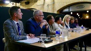 Winnipeg mayoral debate at CBC Manitoba