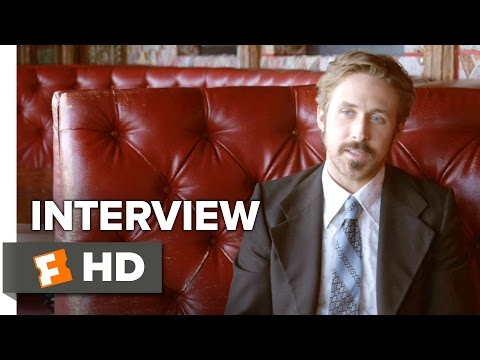 The Nice Guys Interview - Ryan Gosling (2016) - Comedy HD