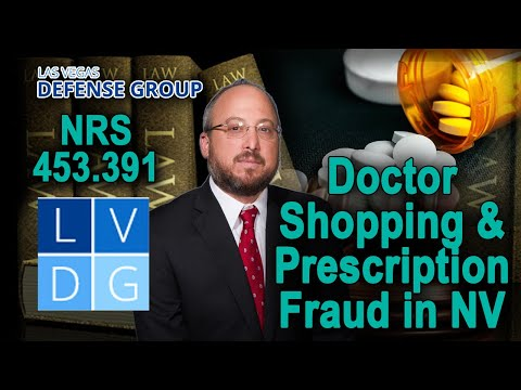 "Who can be prosecuted for ""doctor shopping"" in Nevada?"