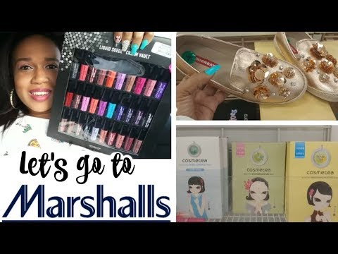 SHOP WITH ME @ MARSHALL'S!!! MAKEUP & MORE