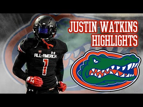 FLORIDA'S NEXT SUPERSTAR?? Justin Watkins High School Football Highlights - East Ridge