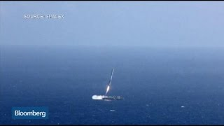 Raw Video: SpaceX Falcon 9 Rocket Fails to Land on Barge