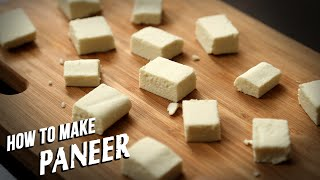 How To Make Paneer At Home | Homemade Paneer - Ruchi Bharani | Basic Cooking