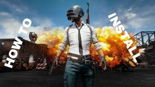 Gambar cover HOW TO INSTALL PUBG.XAPK DOWNLOADED FROM APKPURE.COM