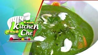 Malai Kofta Hariyali Curry - Ungal Kitchen Engal Chef (18/03/2015)