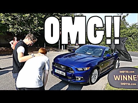 HOW DOES IT FEEL TO WIN YOUR DREAM CAR?!