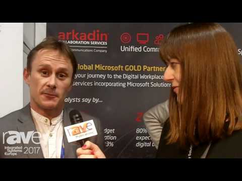 ISE 2017: Arkadin Highlights ArkadinVision Cloud Virtual Meeting Room