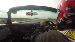 fast lap vx220 Anglesey 24-04-16