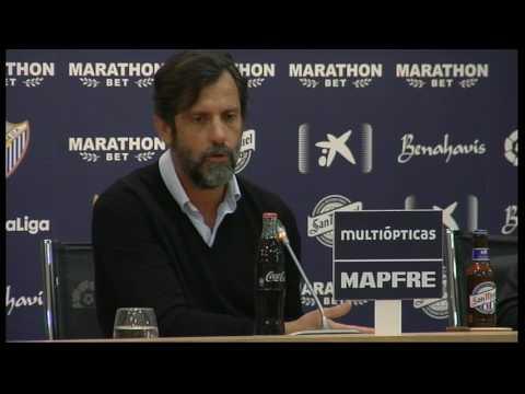En directo: Rueda de prensa Quique Sánchez Flores