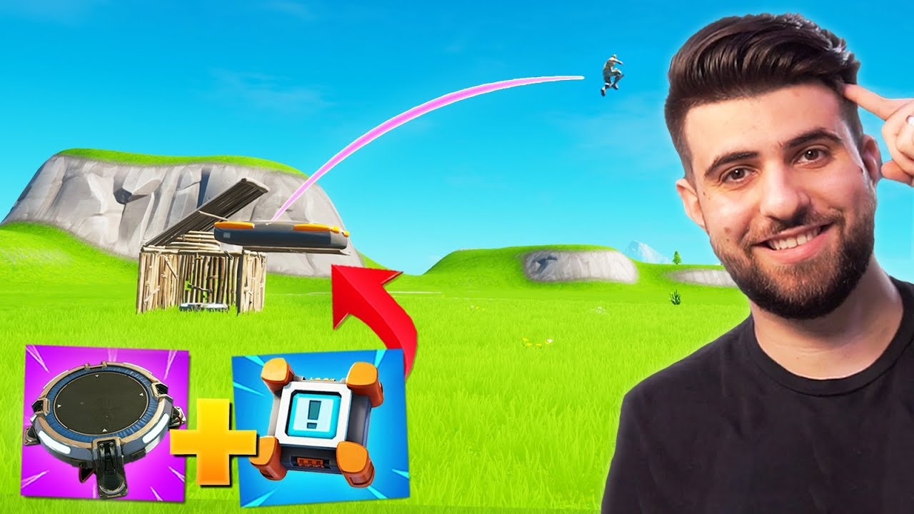The NEW Best Way To Launch Pad in Fortnite Season 3!