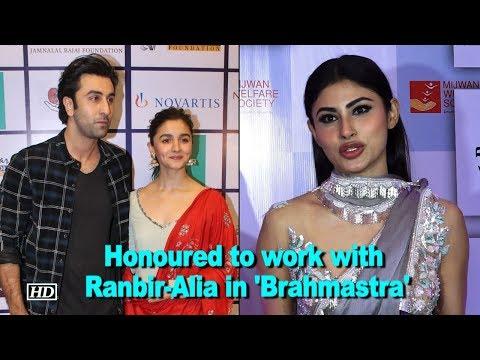 'Brahmastra' was DIFFICULT, honoured to work with Ranbir-Alia: Mouni