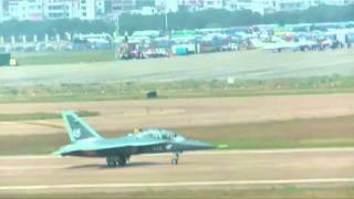 Chinese L-15 Falcon advanced jet trainer