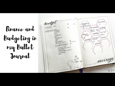 Budget and Finance in My Bullet Journal