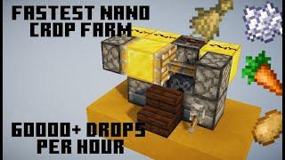 Fastest Nano Crop Farm | 60000 drops per hour!