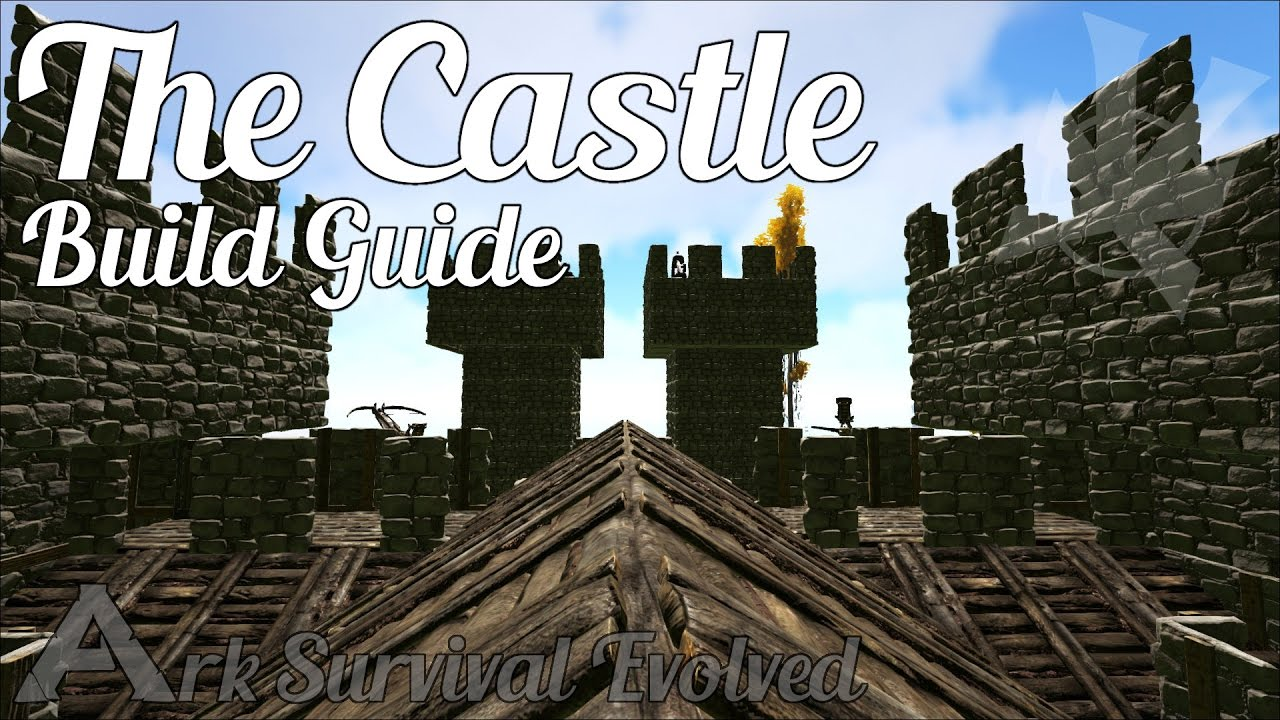 Ark castle build guide ark survival evolved castle build ark castle build guide ark survival evolved castle build tutorial ark how to build a castle youtube malvernweather Gallery