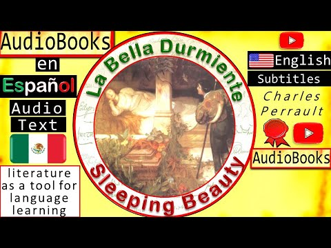 Sleeping Beauty in Spanish | Audiobooks in Spanish with English Subtitles| Fairy Tales in Spanish