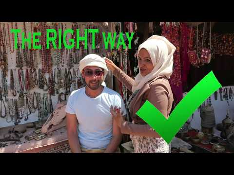 The RIGHT way to tie a middle eastern headscarf (shemagh)