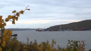 Мурманск Кольский залив Баренцево море п  Мишуково Барабан видео :-)(Природа Кольского края., 2013-09-16T21:50:22.000Z)