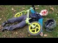 Epic Bike Crash - Tommy's balance bike FAIL!