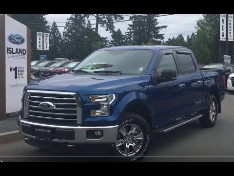 2017 ford f 150 xlt fx4 xtr v8 supercrew backup camera review island ford youtube. Black Bedroom Furniture Sets. Home Design Ideas