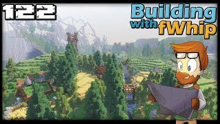 Building with fWhip :: HOW TO PLAN A PROJECT #122 MINECRAFT Let's Play 1.12 Single Player Survival