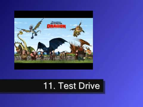test drive how to train your dragon scene