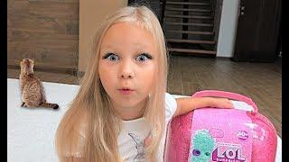 Настоящий ЛОЛ Биггер или НЕТ ! Alice unboxing LOL BIGGER surprise for kids !