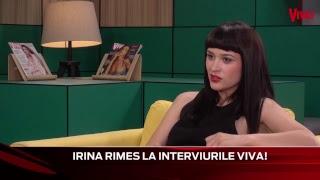 Irina Rimes este invitata zilei la Interviurile VIVA!
